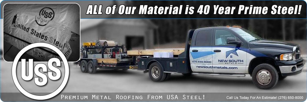 New South Metals USA Steel Metal Roofing